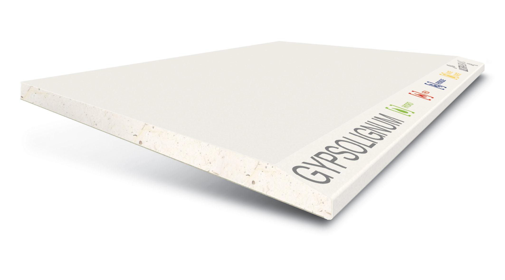 GYPSOTECH® GypsoLIGNUM TIPO DEFH1IR: Plaque de plâtre
