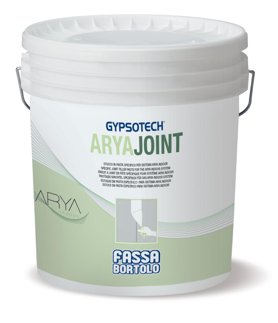 ARYAJOINT: Enduit à joint en pâte prêt à l'emploi pour Système ARYAindoor