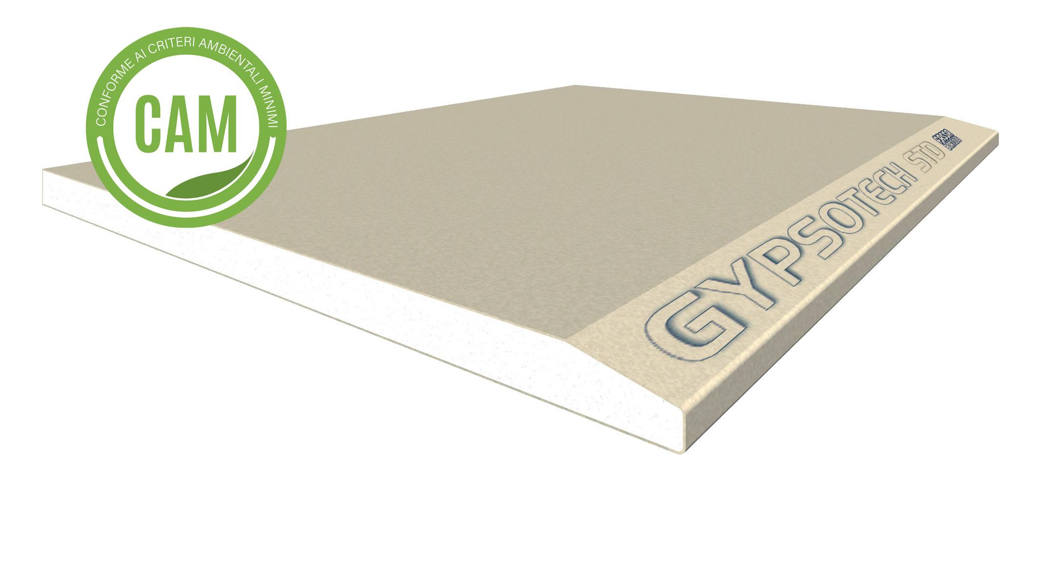 GYPSOTECH® STD TIPO A: Plaque de plâtre