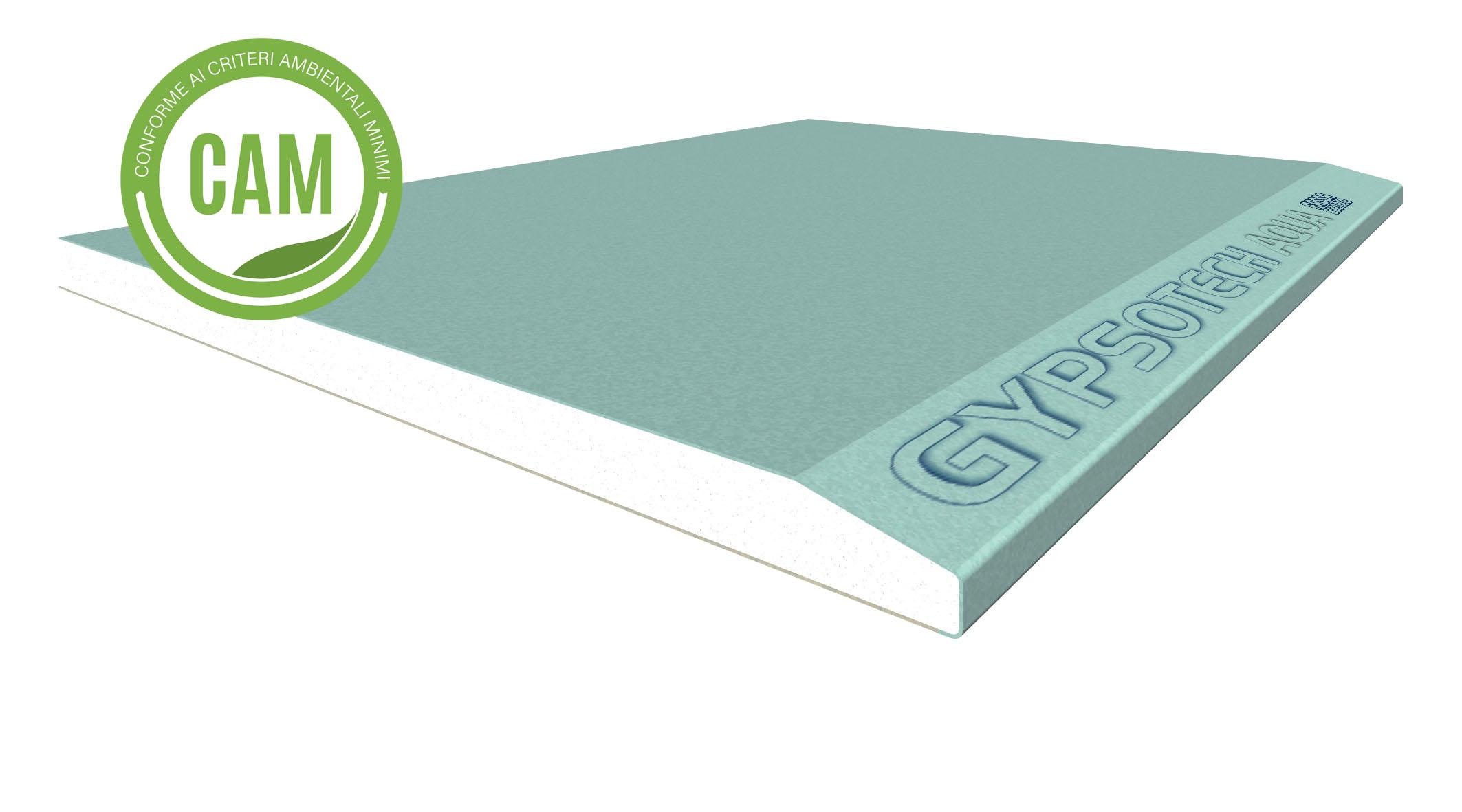 GYPSOTECH® AQUA TIPO DEH2: Plaque de plâtre