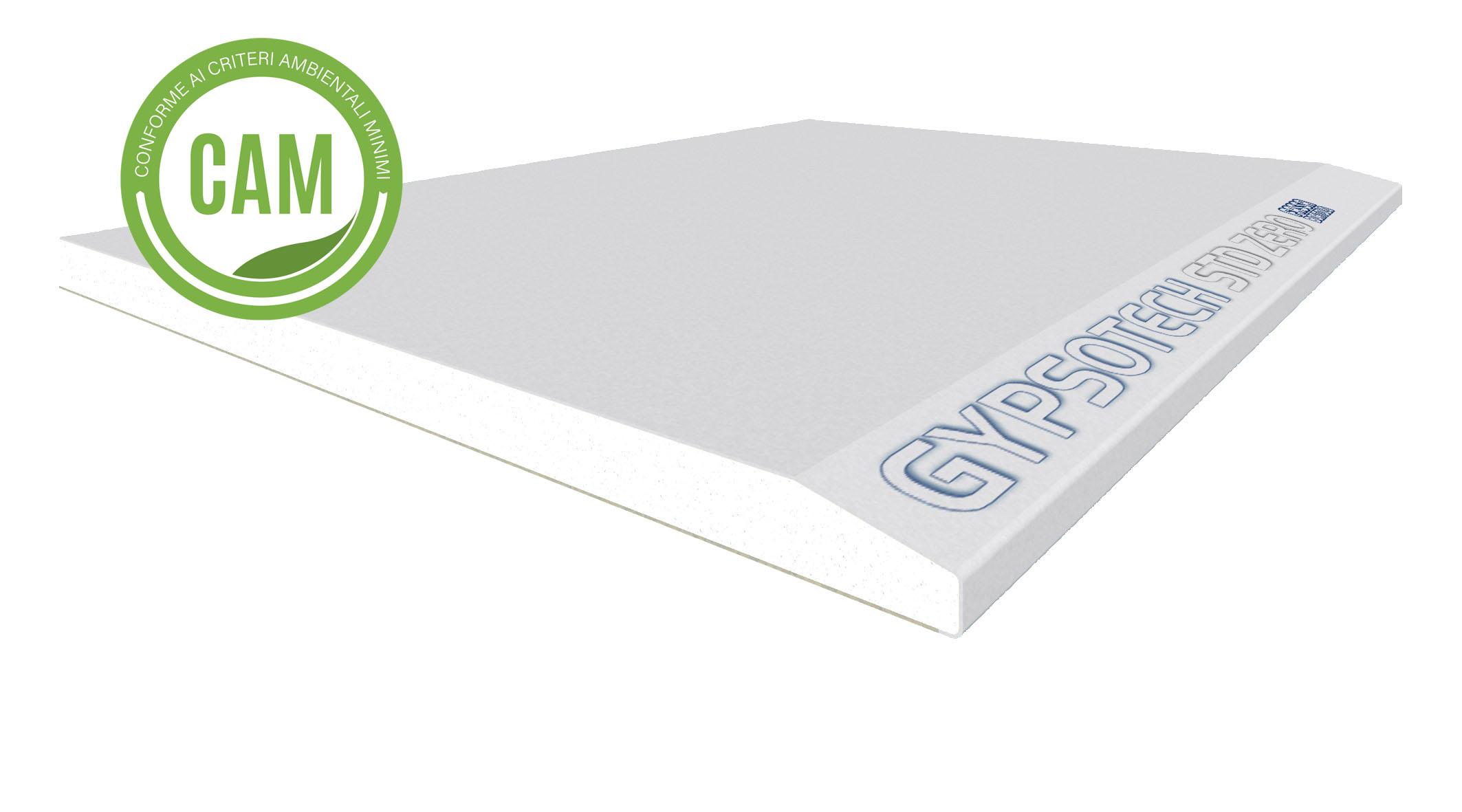 GYPSOTECH® STD ZERO TYPE A: Plaque de plâtre