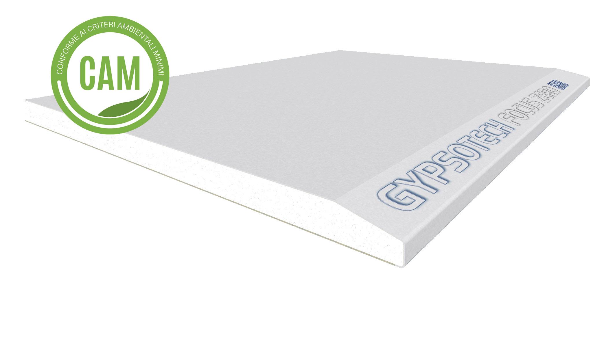GYPSOTECH® FOCUS ZERO TIPO DFI: Plaque de plâtre