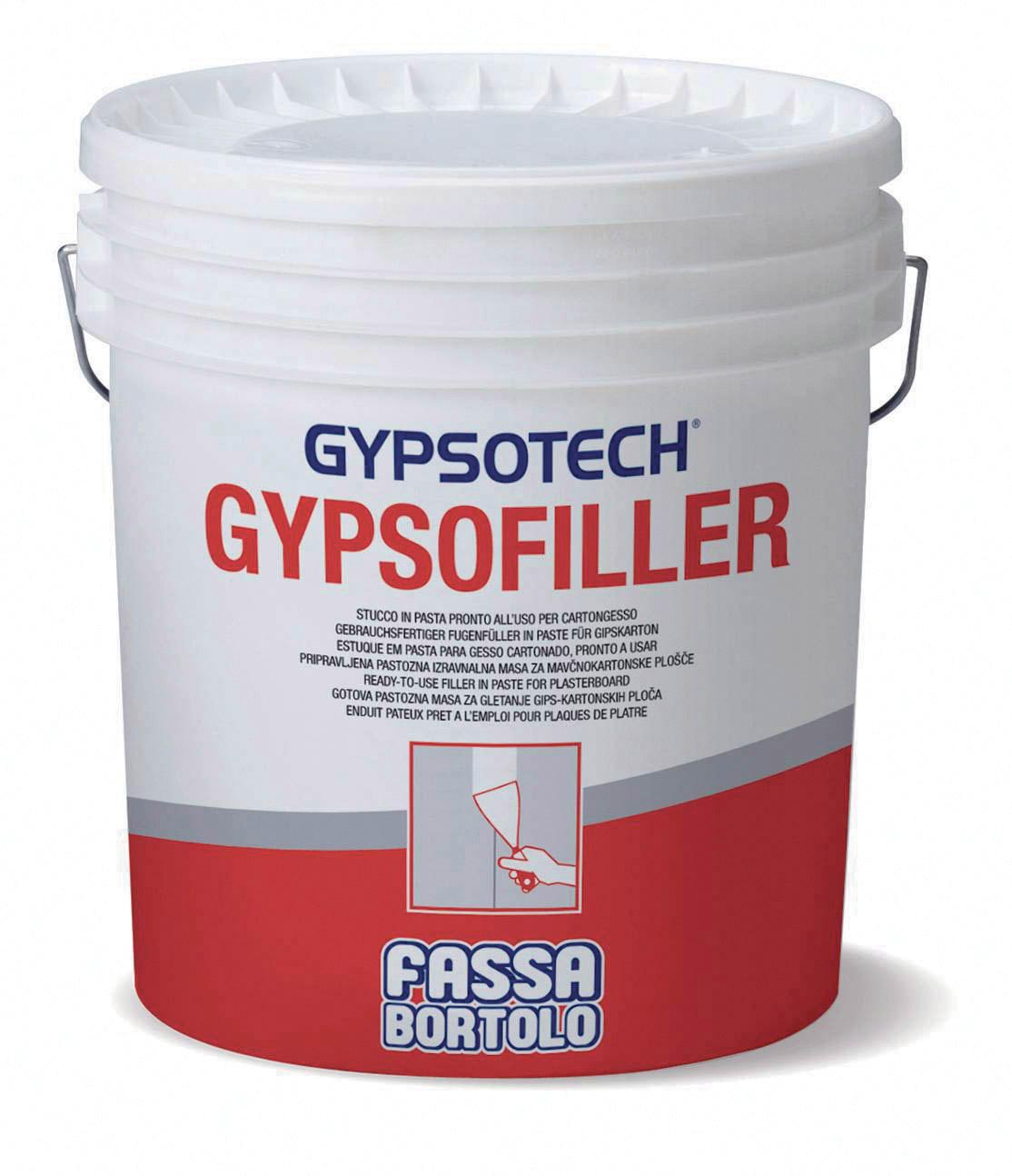 GYPSOFILLER: Enduit à joint en pâte prêt à l'emploi pour plaques de plâtre