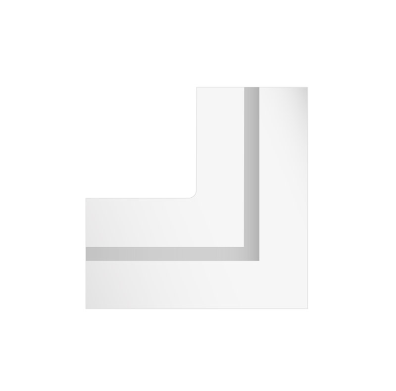 GypsoCOMETE Angle: Elemento di raccordo a